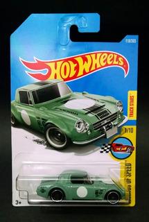 Fairlady 2000 Verde Ou Bege Hot Wheels 2017 Miniatura 1/64