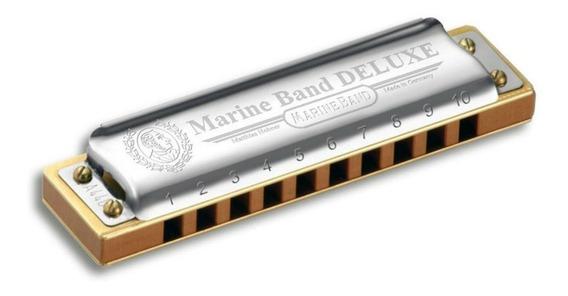 Gaita Harmônica Marine Band Deluxe D - Hohner