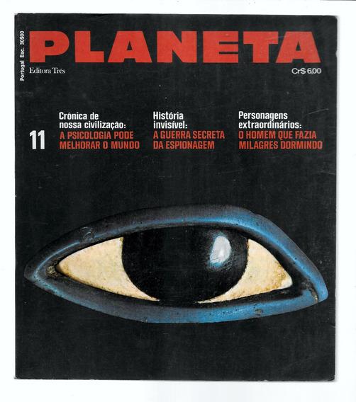 Luc034 Revista Planeta Nº 11 - Editora 3 - Julho 1973