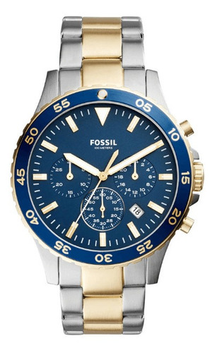 Relógio Fossil Masculino Crewmaster Ch3076/5an