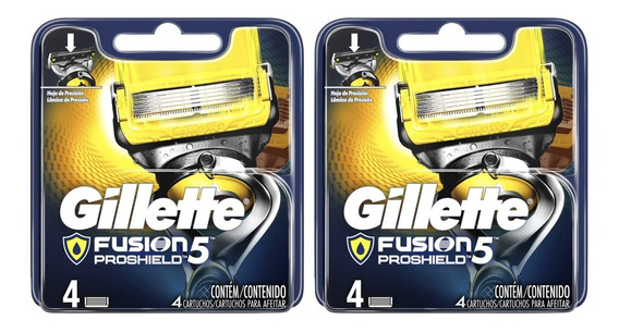 Pack 8 Repuestos Maquina Afeitar Gillette Fusion5 Proshield