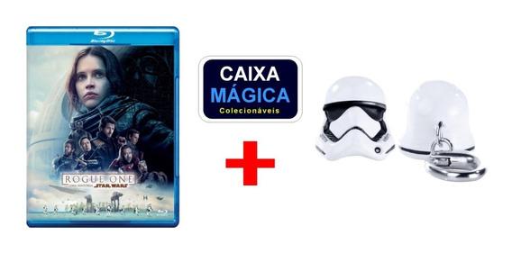 Blu-ray Rogue One Star Wars Lacrado + Iron Studios Chaveiro