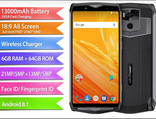 Ulefone Power 5, Bateria 13.000mah 6/64gb Android 8.1.
