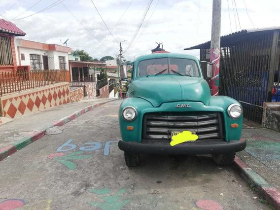 Gmc 1953 Con Platón Ranchero Original- Recién Reparada