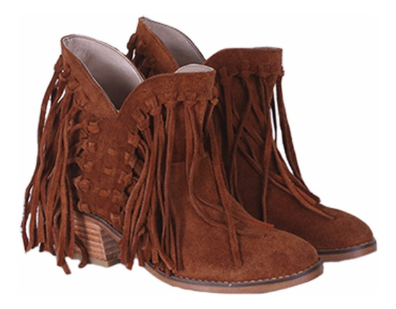 Bota Texana De Cuero Trenzado Model Western De Shoes Bayres