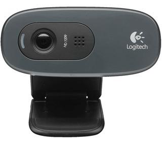 Camara Webcam Logitech C270 720p Hd Twitch Skype Garantia