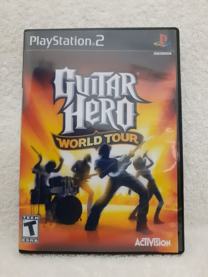 Guitar Hero World Tour Para Ps2 - Patch Ripado Dvd 5
