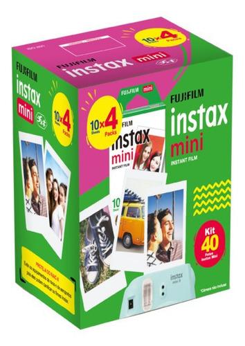 Kit Filme 40 Poses Instax Mini Fujifilm Fotos