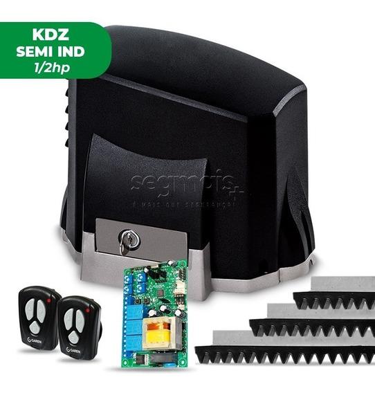 Kit Motor Portão Eletrônico Deslizante Semi Kdz 1/2hp Garen