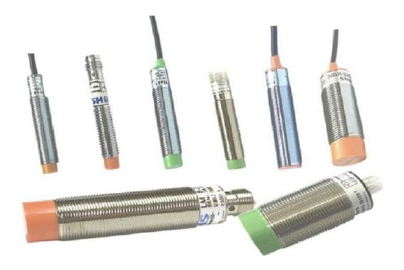 Sensor Indutivo 8mm - 6 A 36 Vcc - Npn - Na - 3 Fios-c/cabo