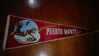 Antiguo Banderin Club Aereo Puerto Montt
