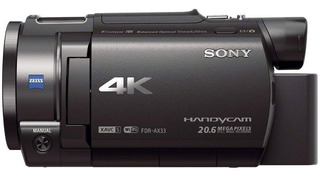 Video Camara Sony Fdr-ax33/bc Uc2 4k Sensor Exmor R 20.6mpx