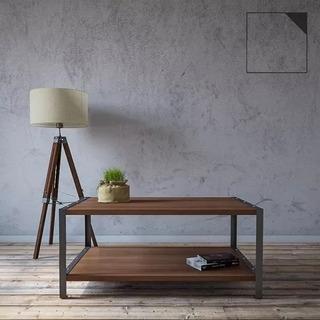 Mesa Ratona - Mueble Diseño Industrial De Hierro Y Madera