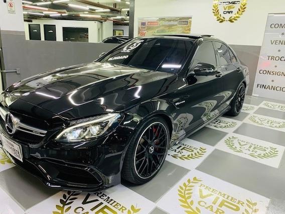 Mercedes-benz C 63 Amg 4.0 V8 Turbo Gasolina S Sedan 4p Auto