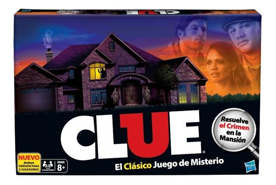 Juego De Mesa Clue Hasbro 130116u Policial Suspenso