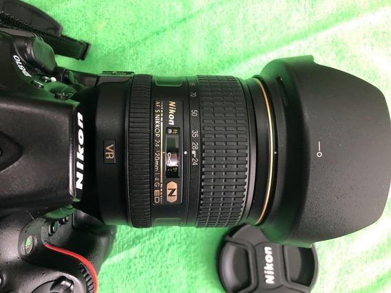 Lente Objetiva Nikon Af-s 24-120mm F4 G Ed Vr N