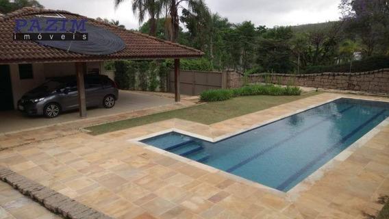 Casa Com 4 Dormitórios À Venda, 325 M² - Condomínio Chácaras Do Lago - Vinhedo/sp - Ca4439