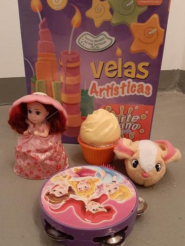 Lote Juguetes Cupcake Doll Cupcake Beat Bunnies Wabro Velas