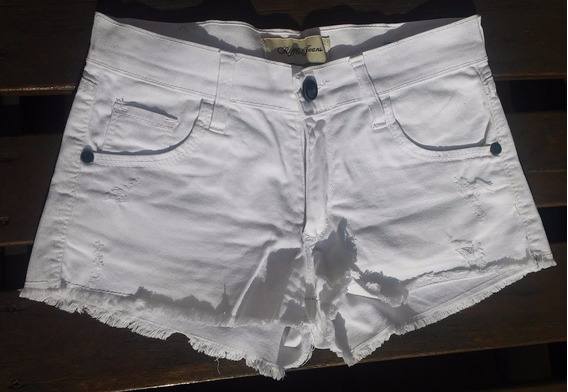 Riffle ! Short Blanco Jean T.26