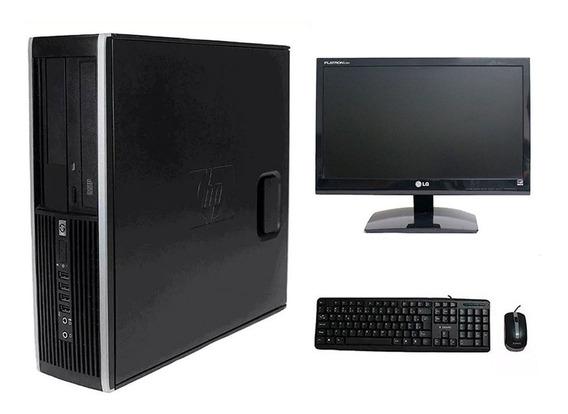 Computador Hp Elite 8200 I5 4gb 240ssd Monitor 19 Polegadas
