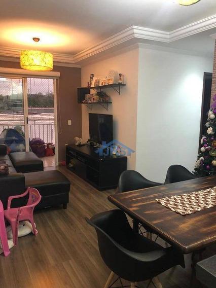 Apartamento Com 3 Dormitórios À Venda, 80 M² Por R$ 400.000,00 - Jardim Tupanci - Barueri/sp - Ap1702