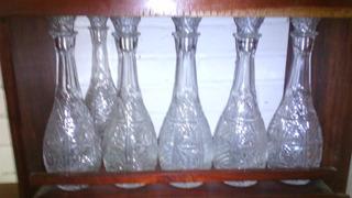 Licoreras De Cristal Plomo