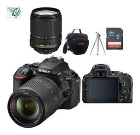 Nikon D5600 Lente Af-s 18-140mm + Bolsa+tripe+32gb Classe 10