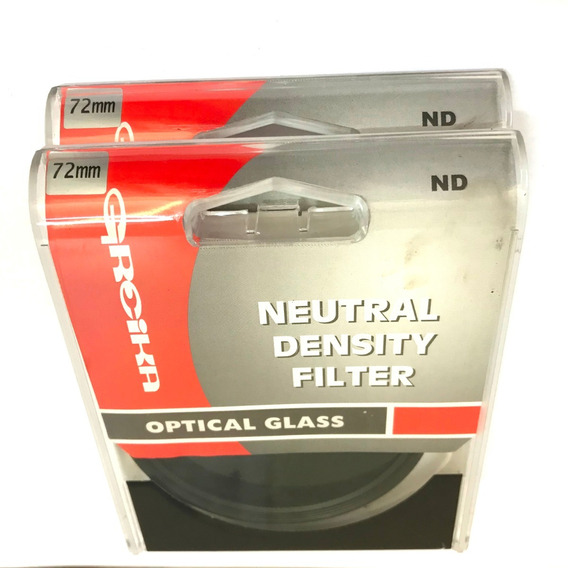 Filtro Nd8 Greika 72mm Densidade Neutra 72mm Nd8