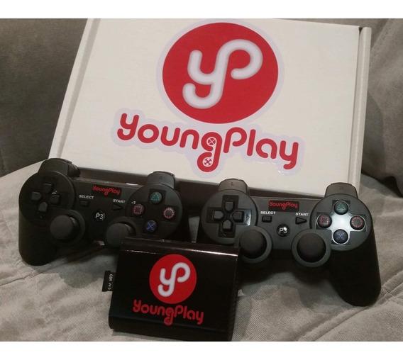 Young Play 9109 Jogos Antigos Com 4 Controles Sem Fio