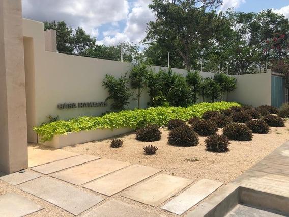 Casa Nueva De Una Sola Planta En Venta Modelo Hamacas, Temozón Norte, Mérida