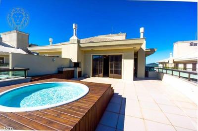 Cobertura Com 3 Dormitórios Para Alugar, 179 M² Por R$ 5.900,00/mês - Campeche - Florianópolis/sc - Co0069