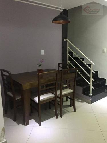 Sobrado Com 3 Dormitórios À Venda, 86 M² Por R$ 420.000,00 - Vila Antonieta - São Paulo/sp - So0115