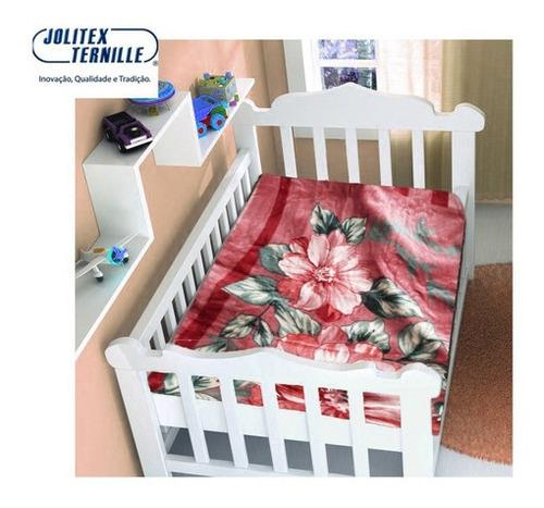 Imagem 1 de 1 de Cobertor Bebe Infantil Jolitex Touch Texture Fr Não Alérgico