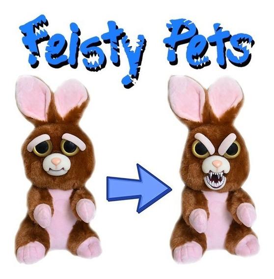 Pelúcia Feisty Pets Coelho - William Mark Corporation