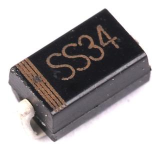 5x 1n5822 Ss34 Do-314aa Smd Diodo Schottky 3a 40v