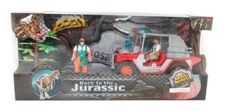 Dinosaurios 3 Figuras Play Set 3 Con Accesorios En Caja