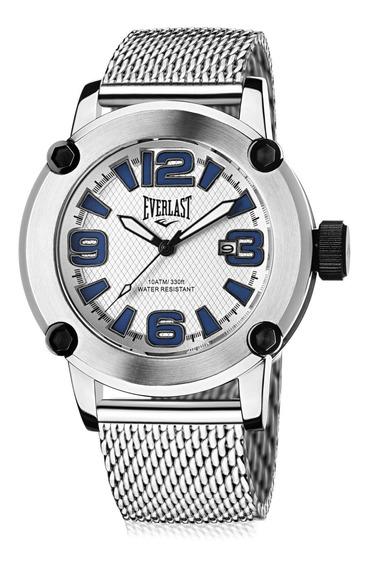 Relógio Pulso Everlast Resistente Unissex Aço E10516