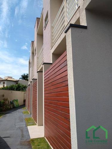 Casa Com 2 Dormitórios À Venda, 107 M² Por R$ 499.000,00 - Parque Da Hípica - Campinas/sp - Ca0257