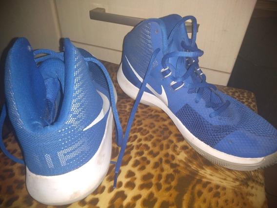 Tênis Nike Air Precision Azul.