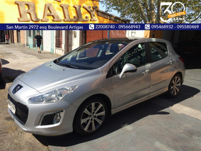 Peugeot 308 1.6 Th Entrega 7800 Y Financia Sola Firma