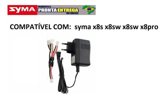 Carregador 127/220v /7,4v Drone Syma X8sw, X8sc, X8pro Gps