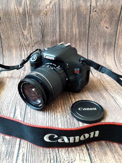 Câmera Fotográfica Eos Rebel T3i + Acessórios