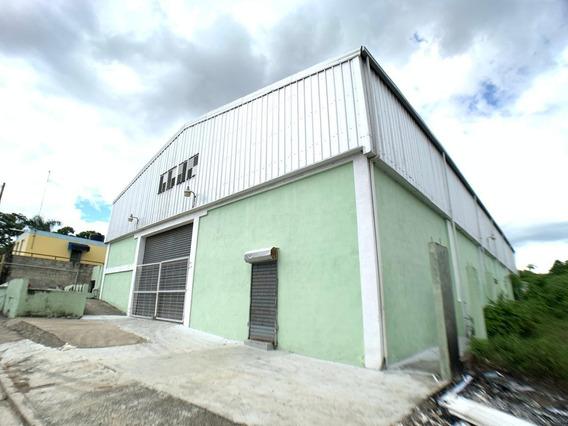 Nave Industrial 1,010 M2 En Autopista Duarte