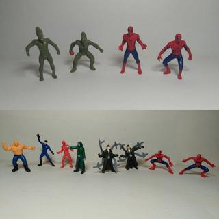 Figuras Miniatura Barcel Spiderman Cuatro Fantasticos Marvel