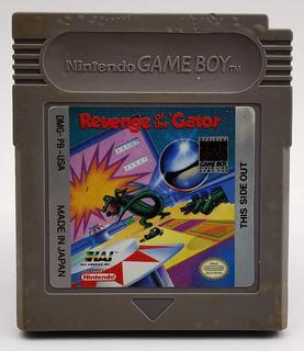 Pinball Revenge Of The Gator Gameboy Original * R G Gallery