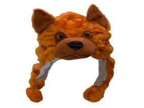 Touca Gorro De Bichinhos De Pelúcia Cachorro Infantil