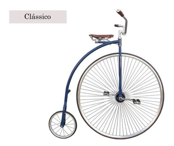 Bicicleta Antiga - Velocípede - Shakebone Penny - Farthing
