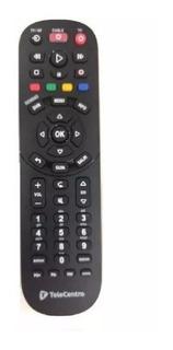 Control Remoto 3900 Decodificador Telecentro Digital Nuevo !