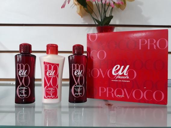 Kit Hidratante Eu Morango Com Champagne 3 Produtos - Jequiti