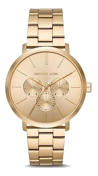 Relógio Michael Kors Dourado Mk8702/1dn C/ Nf E Garantia U